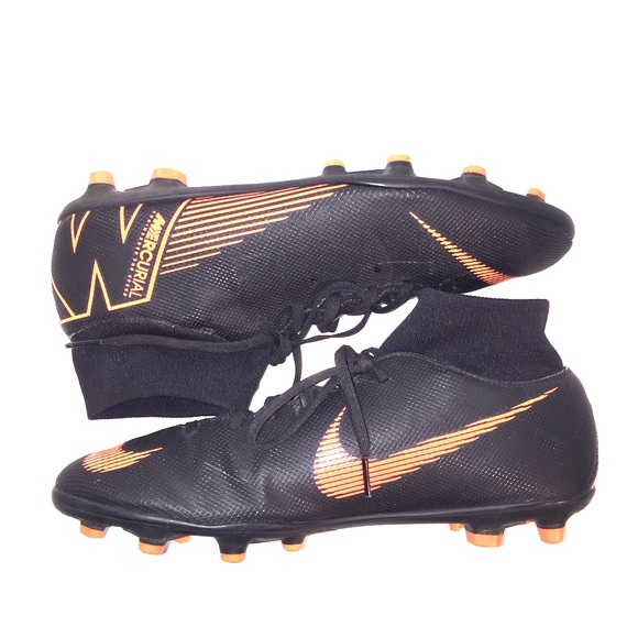 finest selection 08c84 972f0 Nike Mercurial Superfly Size 9 Black Orange Used